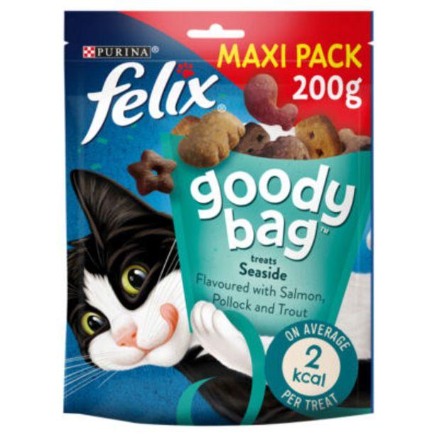 Goody Bag Cat Treats Seaside Mix offer at £3