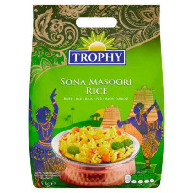 Sona Masoori Rice offer at £6