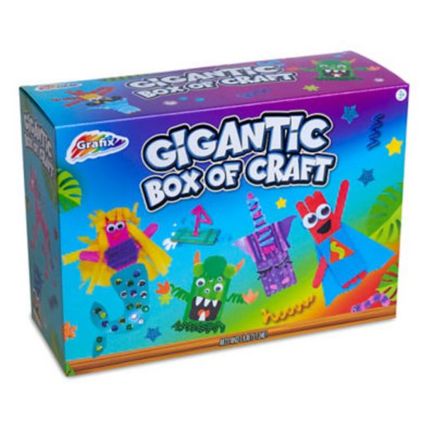 Gigantic Box Of Craft (8+ Years) offer at £6