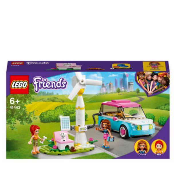 Friends Olivia's Electric Car Toy 41443 offer at £11
