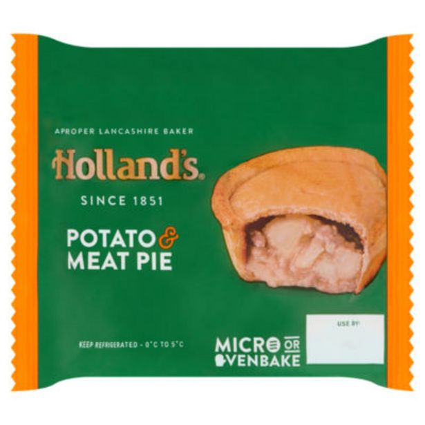 Potato & Meat Pie offer at £0.75