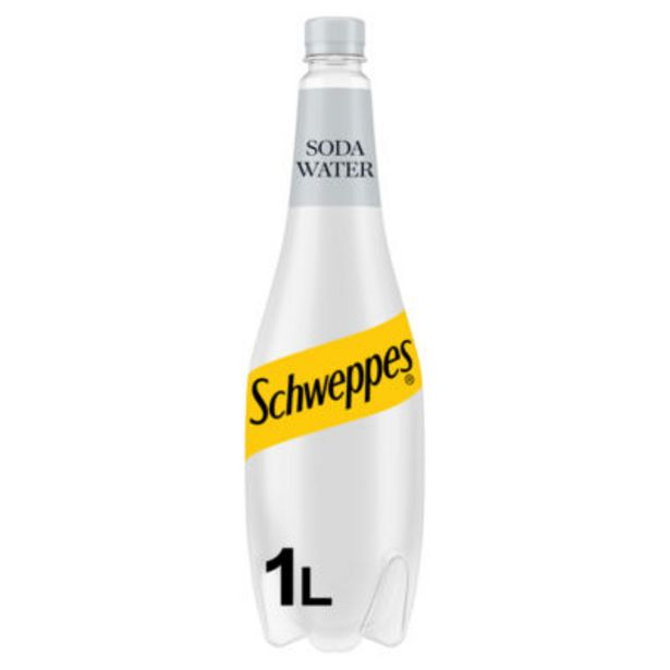 Soda Water offer at £1.6