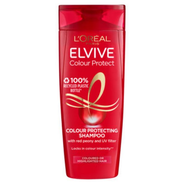 Elvive Colour Protect Coloured Hair Shampoo offer at £1.75