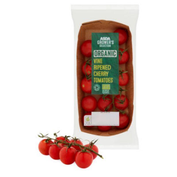 Organic Vine Ripened Cherry Tomatoes offer at £1.5
