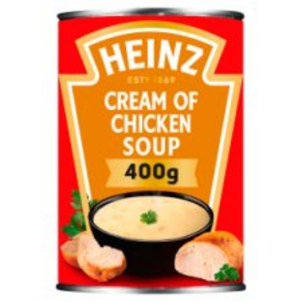 Heinz Cream Of Chicken Soup 400G offer at £0.95