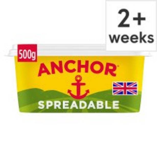 Anchor Salted Spreadable 500G offer at £3.5