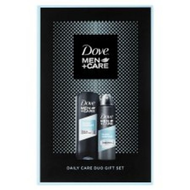 Dove Men Plus Care Daily Care Duo Gift Set offer at £7