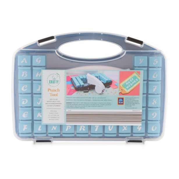 So Crafty Punch Tool offer at £9.99