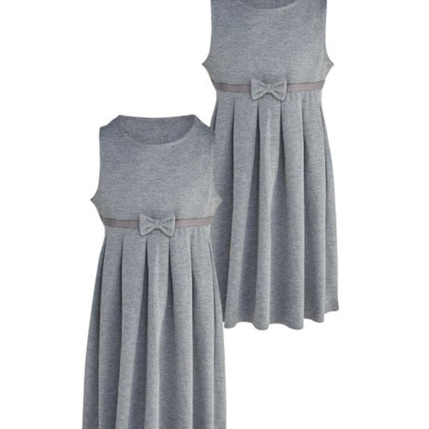 Grey Jersey Pinafore 2 Pack offer at £6.99