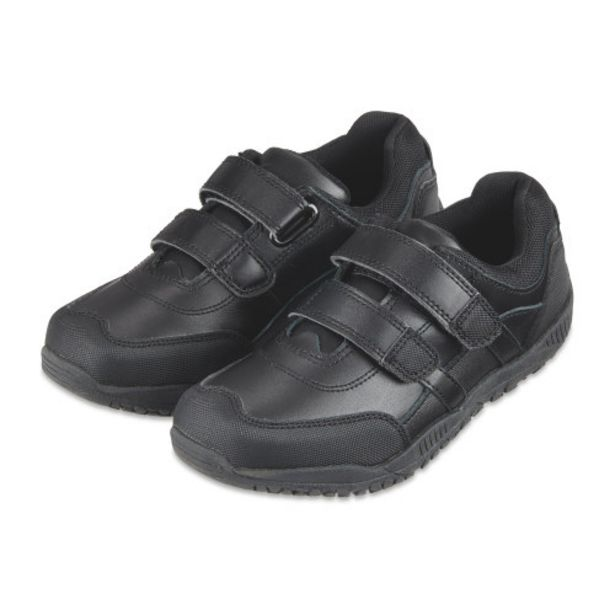 Boy's Velcro Leather Shoes offer at £6.99