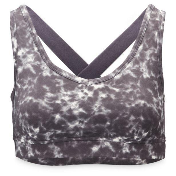 Ladies' Marble Print Yoga Sports Bra offer at £6.99