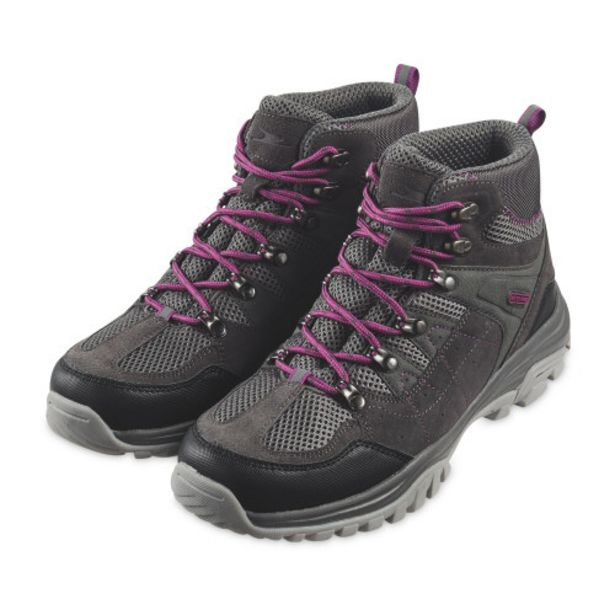 Crane Ladies' Grey Walking Boots offer at £19.99