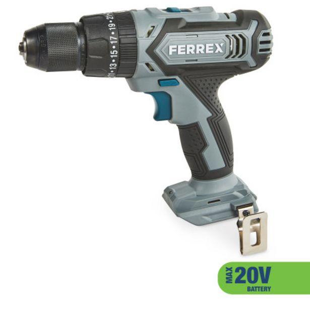 Ferrex 20V Cordless Combi Drill offer at £20