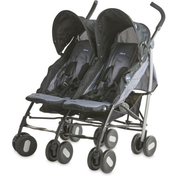 Chicco Echo Twin Pushchair offer at £99.99