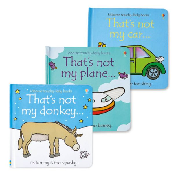 Car, Donkey & Plane Not My Book Set offer at £8.97