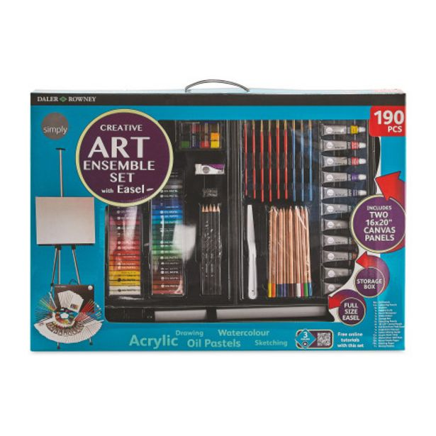 Daler Rowney Premium Art Set offer at £49.99