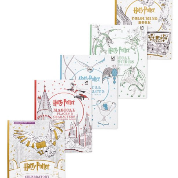 Harry Potter Colouring Books offer at £24.95