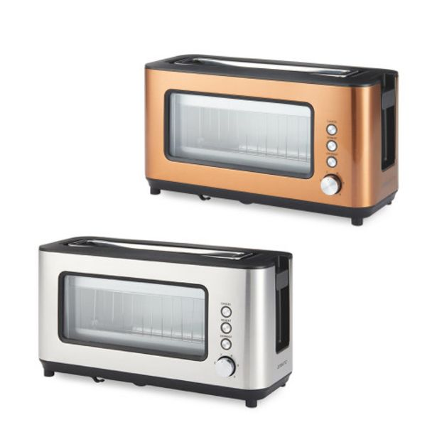 Ambiano Glass 2 slice Toaster offer at £24.99