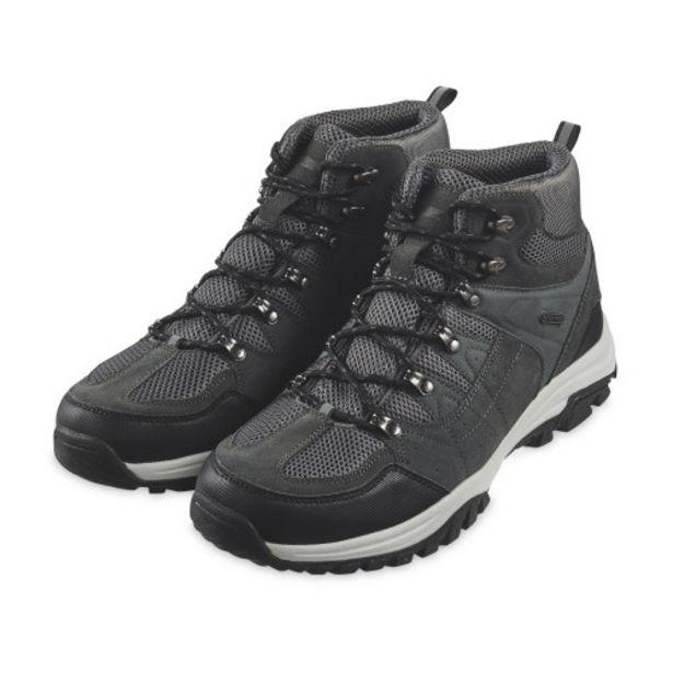 Crane Men's Black Walking Boots offer at £19.99
