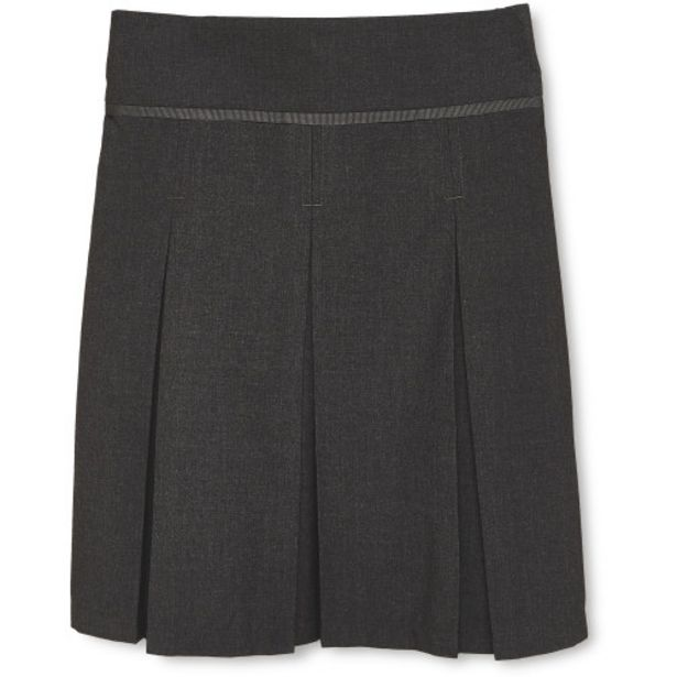 Grey Pleated Skirt offer at £1.75