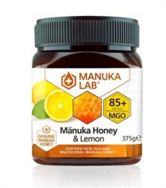 Manuka Lab Manuka Honey & Lemon 375g offer at £9.99