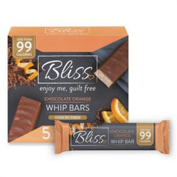 Bliss Whip: Chocolate Orange (20 x 5 Bars) offer at £19.8