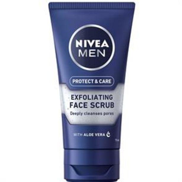 Nivea Men Protect & Care Exfoliating Face Scrub 75ml offer at £2.29