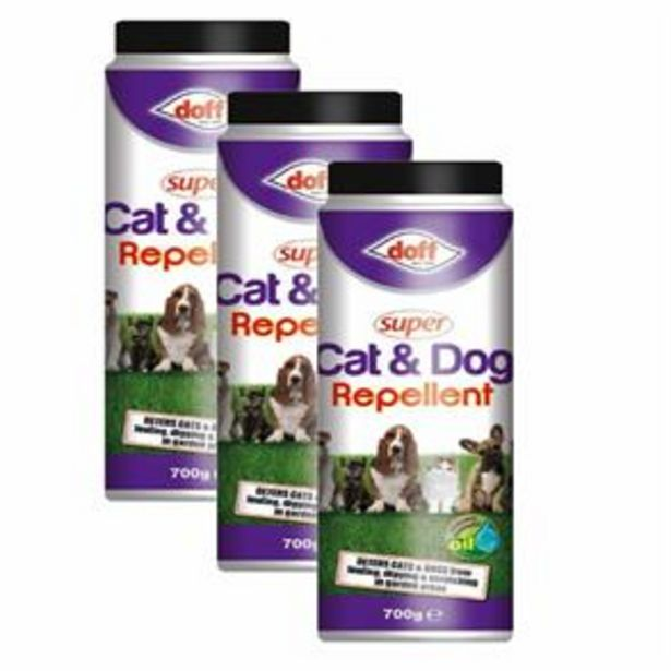Super Cat & Dog Repellent 700g x3 offer at £7.47