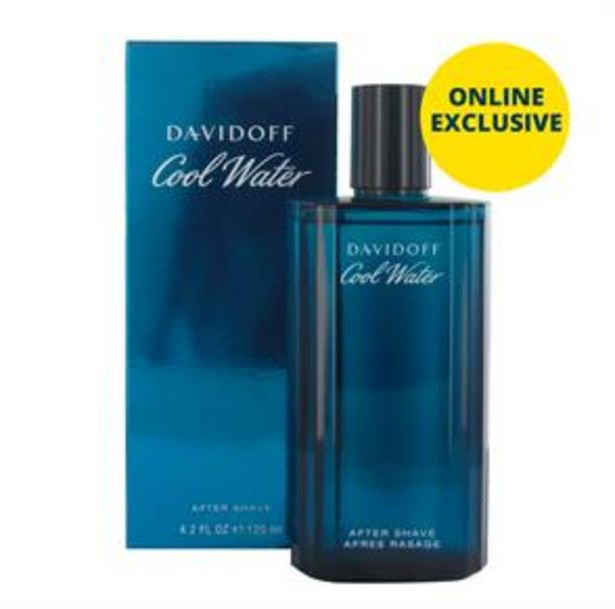 Davidoff Cool Water 125ml After Shave offer at £20.99