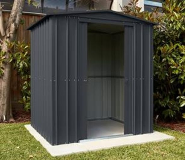 Store More Lotus Metal Apex Roof Shed 6 x 4 offer at £239.99