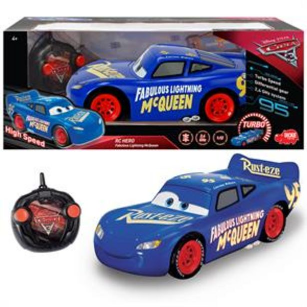 Disney Cars 3 RC Hero Fabulous Lightning McQueen offer at £19.99