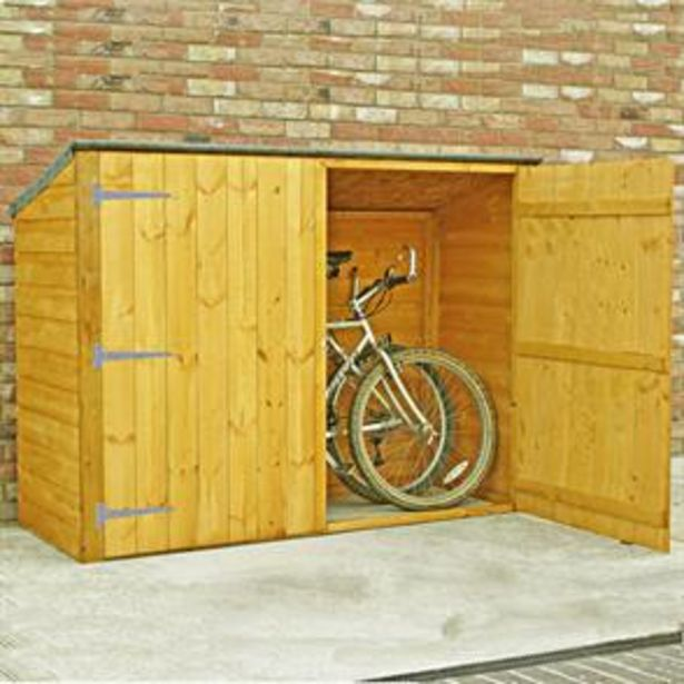 Shire Pent Shiplap Bike Store No Floor offer at £159.99