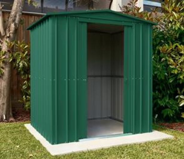 Store More Lotus Metal Apex Roof Shed 6 x 3 offer at £214.99