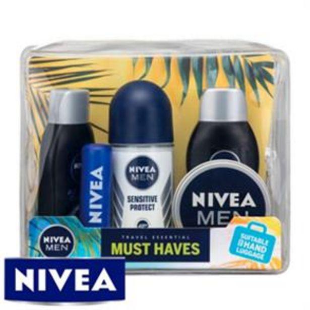 NIVEA MEN Must Haves Travel Essentials Set offer at £4.99