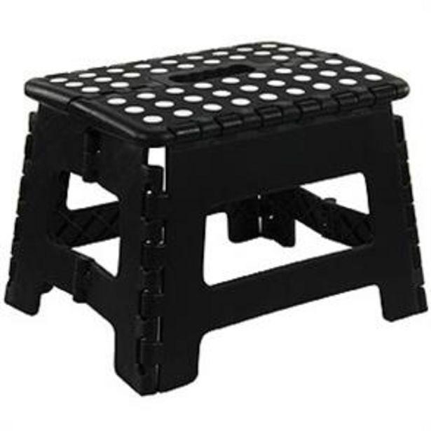 Equip DIY Folding Stool: Black offer at £3.99