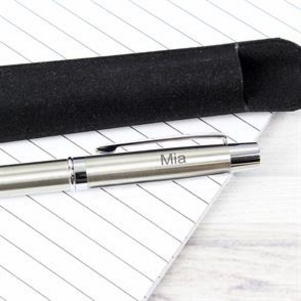 Personalised Classic Pen and Pouch Set offer at £6.99