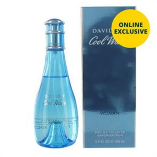 Davidoff Cool Water Woman 100ml EDT offer at £18.99