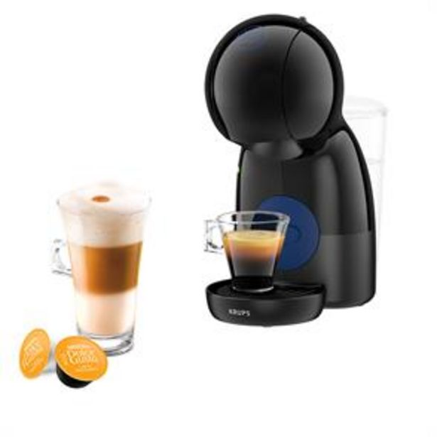 Nescafe: Dolce Gusto Piccolo XS Manual Coffee Machine - Black by Krups offer at £37.99