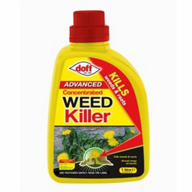 Doff Advanced Weedkiller Concentrate 1 Litre offer at £4.99