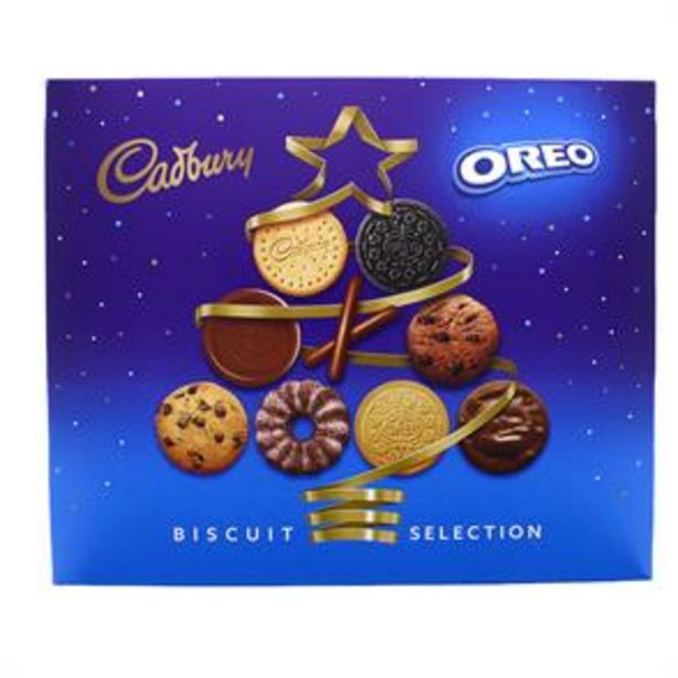 Cadbury Oreo Biscuit Selection 500g offer at £3.99