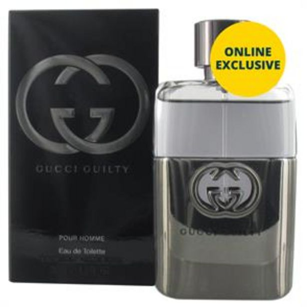 Gucci Guilty Pour Homme 50ml EDT offer at £44.99