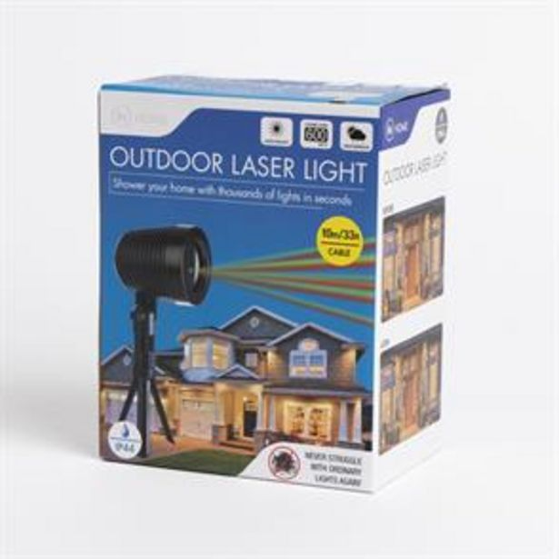 In Home: Outdoor Laser Light offer at £9.99