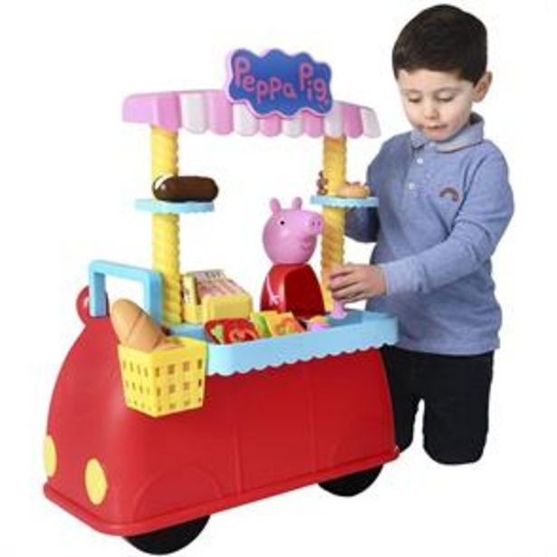 Peppa Pig Deli Car offer at £34.99