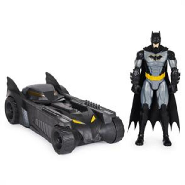 DC Tactical Batman & Batmobile offer at £18.99