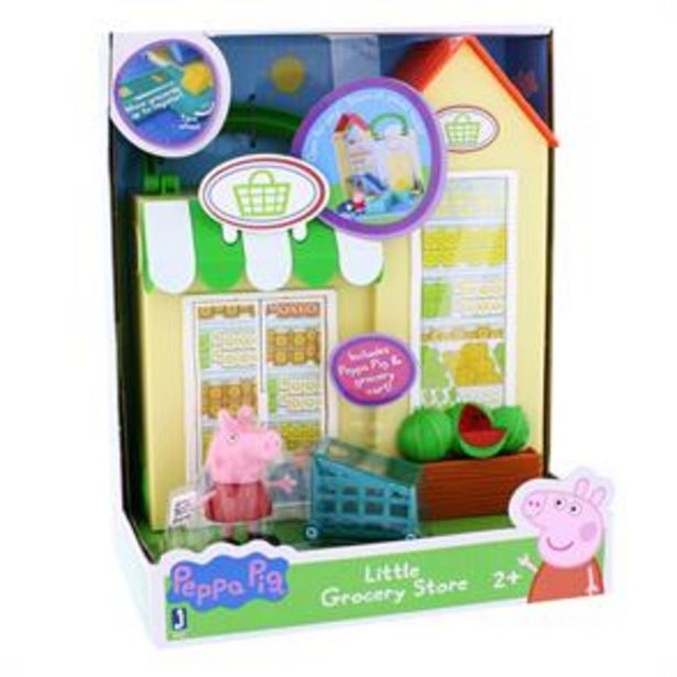Peppa Pig Little Grocery Store Playset offer at £14.99