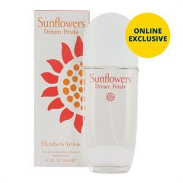 Elizabeth Arden Sunflowers Dream Petals EDT Spray - 100ml offer at £8.99
