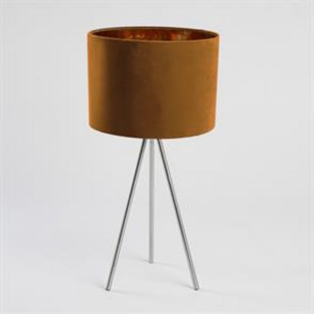 Home Collections Tripod Table Lamp - Orange offer at £19.99