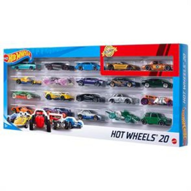 Hot Wheels: 20 Car Gift Pack offer at £18.99