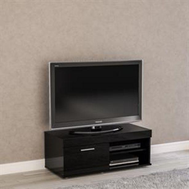 Birlea Edgeware Small TV Unit: Black offer at £69.99