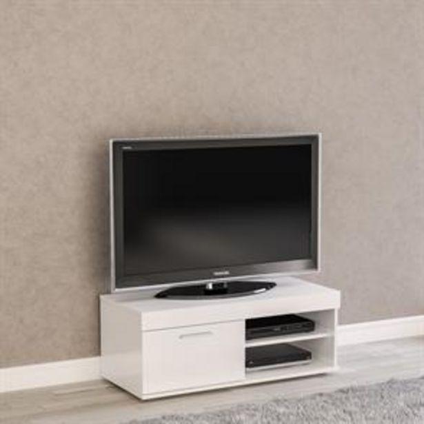 Birlea Edgeware Small TV Unit: White offer at £69.99